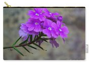 Flowers Against The Wall Carry-all Pouch