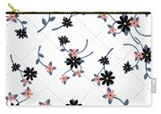 Flowers All Around Carry-all Pouch