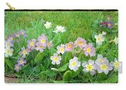 Flowers Along The Edge 1006 Carry-all Pouch