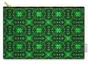 Flowers And Bees Abstract Carry-all Pouch
