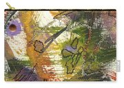 Flowers And Leaves Iv Carry-all Pouch