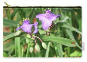 Flowers And Raindrops Carry-all Pouch