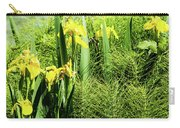 Flowers At Green Lake Carry-all Pouch
