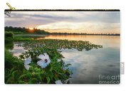 Flowers At Sunset Carry-all Pouch