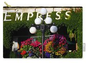 Flowers At The Empress Carry-all Pouch