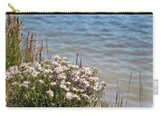 Flowers At The Lake Carry-all Pouch