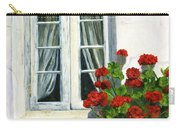 Flowers At The Window Carry-all Pouch