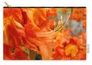 Flowers Azalea Garden Orange Azalea Flowers 1 Giclee Prints Baslee Troutman Carry-all Pouch