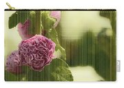 Flowers Behind The Screen Carry-all Pouch
