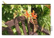Flowers' Bench Carry-all Pouch