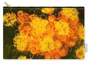 Flowers, Buttons And Ribbons -shades Of Orange/yellow  Carry-all Pouch