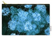 Flowers, Buttons And Ribbons -shades Of  Turquoise Carry-all Pouch