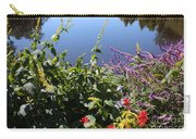 Flowers By The Pond Carry-all Pouch