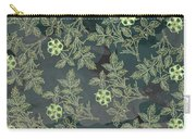 Flowers Fabric Print Design Carry-all Pouch