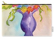 Flowers For Bobbie Carry-all Pouch