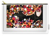 Flowers For Sale Poster Carry-all Pouch