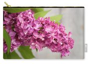 Flowers - Freshly Cut Lilacs Carry-all Pouch