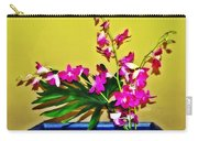 Flowers In A Blue Dish - Japanese House Carry-all Pouch