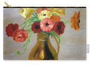 Flowers In A Pitcher -11 Yrs Old Carry-all Pouch