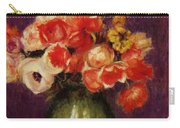 Flowers In A Vase 1901 Carry-all Pouch