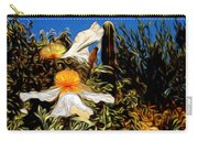 Flowers In Abstract 15 Carry-all Pouch