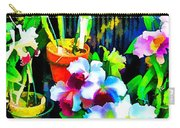 Flowers In Abstract 18 Carry-all Pouch