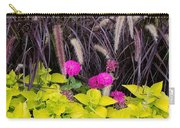 Flowers In Contrast Carry-all Pouch