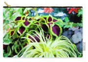 Flowers In Garden 3 Carry-all Pouch