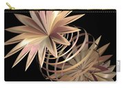 Flowers In Pink Carry-all Pouch