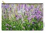 Flowers In The Field  Carry-all Pouch