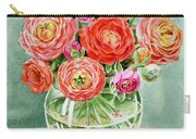 Flowers In The Glass Vase Carry-all Pouch