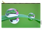 Flowers In The Raindrops Carry-all Pouch
