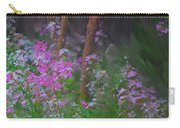 Flowers In The Woods Carry-all Pouch