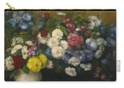 Flowers In Three Vases 1879 Carry-all Pouch