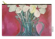 Flowers Inside Glass Pitcher Carry-all Pouch