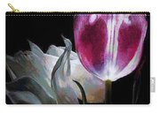 Flowers Lit Carry-all Pouch