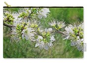 Flowers Of The Blackthorn Shrub Carry-all Pouch