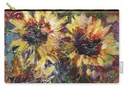 Flowers Of The Gods Carry-all Pouch