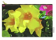 Flowers On Deck Carry-all Pouch