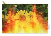 Flowers On Fire Carry-all Pouch
