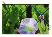 Flowers On The Fence 1 Carry-all Pouch