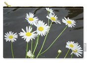 Flowers On The Water Carry-all Pouch