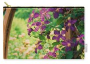 Flowers On Vine  Carry-all Pouch