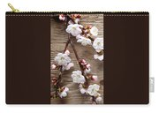 Flowers On Wall Carry-all Pouch