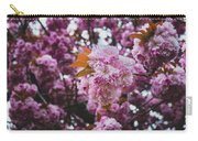 Leeds Pink Flower Carry-all Pouch