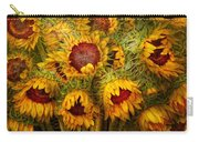 Flowers - Sunflowers - You're My Only Sunshine Carry-all Pouch
