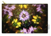 Flowers Thru Kaleidiscope Carry-all Pouch