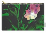 Flowerscape Glow Of Night Carry-all Pouch