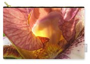Flowerscape Pink Iris One Carry-all Pouch