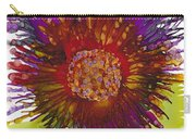 Flowerscape Thistle Carry-all Pouch